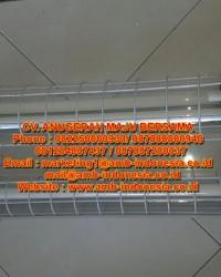 Lampu TL Explosion Proof Glass Alluminium 1x36W 2x18W 1x36W 2x36W HRLM BPY Flourescent Lamp Jakarta
