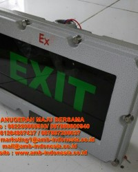Lampu Emergency Exit Lamp Explosion Proof HELON BBD51 LED Exit Signal Lighting ( IIB, IIC, DIP ) Jak