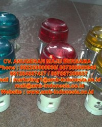 Indicator Lamp Explosion Proof WAROM - ASP LED 24 Vdc Lamp Indicator