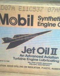 SEDIA : MOBILJET II OIL, OLI MOBILJET NO.2, MOJET 2 -- OLI PESAWAT, PELUMAS PENERBANGAN MOBILJET 2,