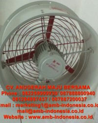 Blower Fan Explosion Proof HRLM CBF Series Axial Flow Fan