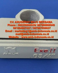 Bushing Explosion Proof Elbow HRLM YHXe Series Explosion Proof Conduit Boxes Jakarta Indonesia