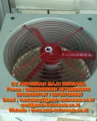 """Exhaust Fan Explosion Proof 12"""" 16"""" 20"""" HRLM FAG Series  Bracket Exhaust Fan Jakarta"""