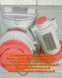 Plug And Socket Explosion Proof Aluminium Alloy 16A 32A 63A Warom BCZ85 Receptacle