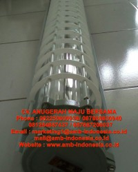 Lampu TL Explosion Proof Glass Alluminium HRLM BPY Series Fluorescent Lamp Jakarta Indonesia