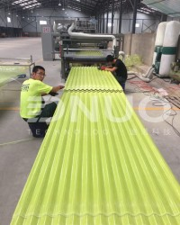 FRP Fiberglass roofing sheet making machine