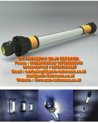 Lampu Led 25W 50W  Explosion Proof Qinsun M1 LED Linear Portable Lighting Jakarta Indonesia