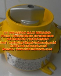 Selector Switch Explosion Proof ON/OFF Warom BZM Illumination Switch Jakarta Indonesia