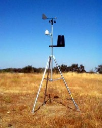 ALAT UKUR METEOROLOGI (TYPE AS-2000) / WEATHER STATION AS-2000 / ALAT UKUR CUACA / KECEPATAN ANGIN /