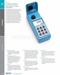 TURBIDITY METER FAST TRACKER™ TECHNOLOGY, EPA COMPLIANT