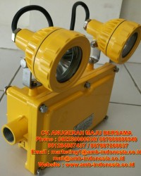 Lampu Emergency Led Explosion Proof Warom BAJ52-20  Emergency Double Head Jakarta