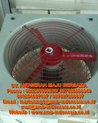 "Exhaust Fan Explosion Proof 12"" 16"" 20"" HRLM FAG Series"