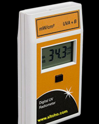 DIGITAL UV RADIOMETER Type 5.0 A+B