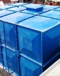 Tandon Air Atas, Tangki Air Fiber Bioseven, Panel Rooftank