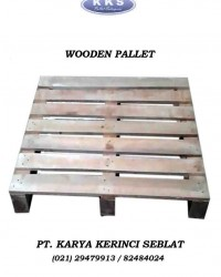 Pallet kayu dua arah type wing / Wooden pallet Two way wing type / Pallet kayu exsport