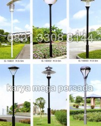 TIANG LAMPU TAMAN MODERN MINIMALIS G-16801 – G-16806