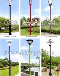 TIANG LAMPU TAMAN MODERN MINIMALIS G-16401 – G-16406