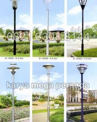 TIANG LAMPU TAMAN MODERN MINIMALIS G-16301 – G-16306