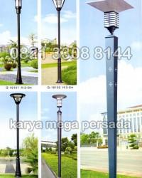 TIANG LAMPU TAMAN MODERN MINIMALIS G-16101 – G-16105