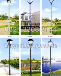 TIANG LAMPU TAMAN MODERN MINIMALIS A-1401 – A-1406