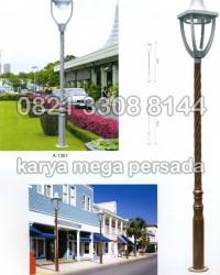 TIANG LAMPU TAMAN MODERN MINIMALIS A-1301 – A-1302