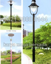 TIANG LAMPU TAMAN MODERN MINIMALIS G-15901 – G-15903