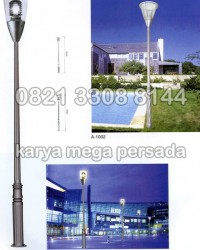 TIANG LAMPU TAMAN MODERN MINIMALIS A-1001 – A-1002