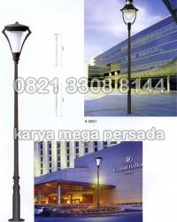 TIANG LAMPU TAMAN MODERN MINIMALIS A-0801 – A-0802