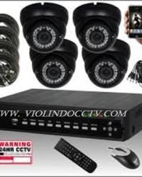 Harga Pasang 4 Kamera CCTV Murah Area JATIJAJAR, Depok