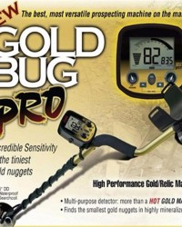 Metal Detector Underground Alat Deteksi Emas Fisher Gold Bug Pro