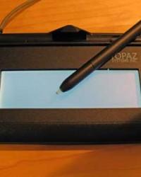 Topaz signature pads SigGem 1x5 T-LBK462 tanda tangan elektronik