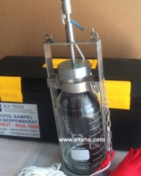 BOTOL SAMPEL AIR BERPEMBERAT 1000 ml