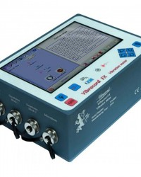 PORTABLE VIBRATION BLASTING  MONITOR MODEL A.4 FX-SERIES