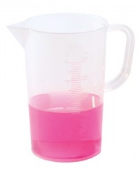 Graduated Tall-Form PP Beaker with Handle, 50 mL