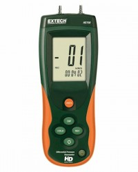 Heavy-duty Differential Pressure Manometer, 5 psi Extech HD750