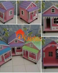 Mainan Anak Rumah Boneka Barbie Pavilion Dollhouse
