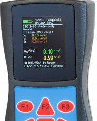Portable Human Vibration Meter (Hand Arm and Whole Body) VM-31 Product : MMF-Germany