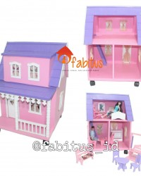 Mainan Anak Rumah Boneka Barbie Arthur Dollhouse