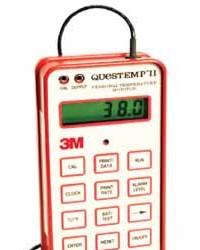 Personal heat stress monitor, QT II