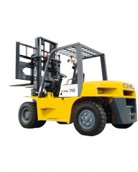 Harga Jual Forklift  Diesel CHL| Forklift Solar CHL 7 Ton Murah Engine ISUZU 6BG1 Baru Hub HKA