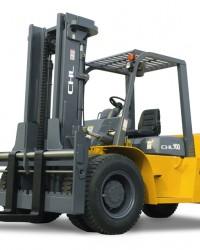 Harga Jual Forklift Diesel CHL | Forklift Solar CHL 10 Ton Murah Engine ISUZU 6BG1 Baru Hub HKA