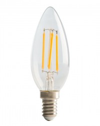 LED Candle Filament, 4W