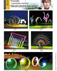 Lampu Hias Taman Proyek DISPERKIM RLL3