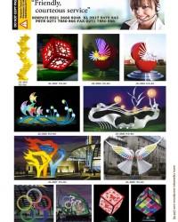 Lampu Hias Taman Proyek DISPERKIM RLL6
