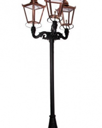Tiang Lampu Taman Victorian II Type V037