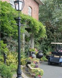 Tiang Lampu Taman Victorian II Type V036