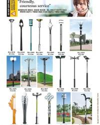 Tiang Lampu Taman Modern RLL2
