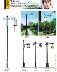 Tiang Lampu Taman Modern RLL7