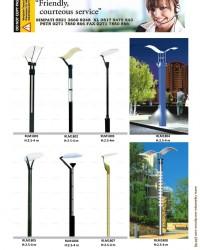Tiang Lampu Taman Minimalis Modern RLM1