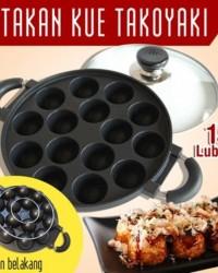 Jasa Import Cetakan 15 lubang cekung / Snack Maker 15 Lubang Cekung Takoyaki